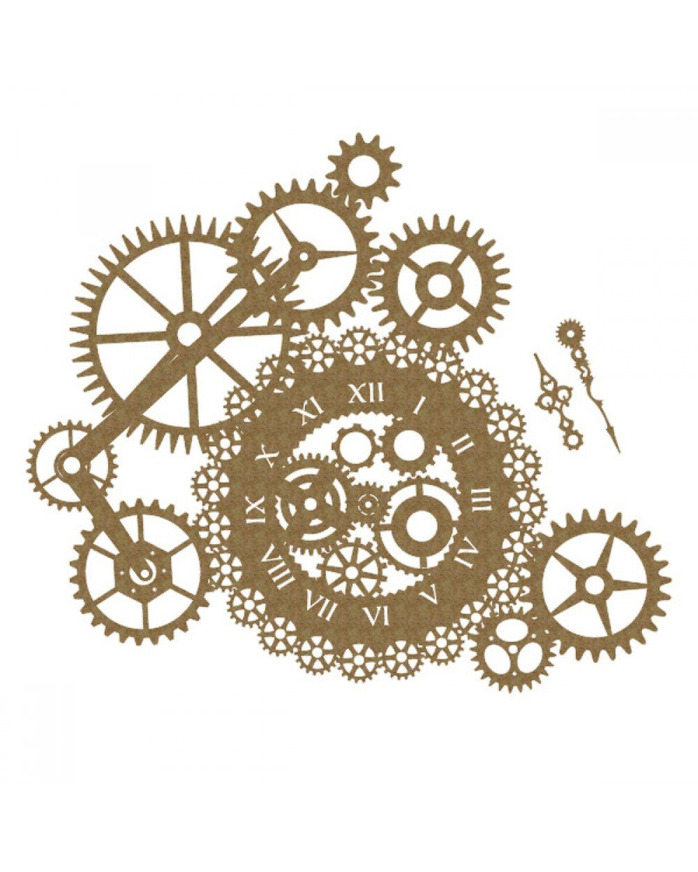 CE - Steampunk Clock & Gear Cluster