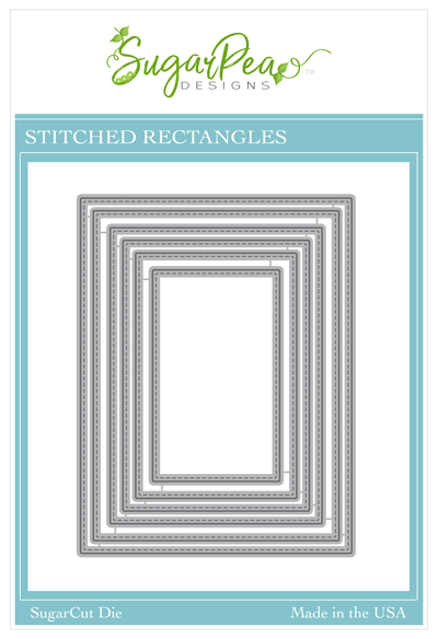 Sugar Pea Designs - Stitched Rectangles Die