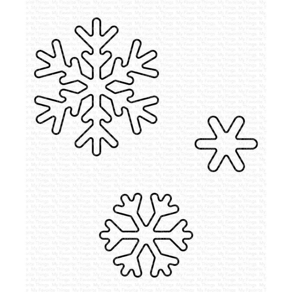 MFT - Sweet Snowflakes Die