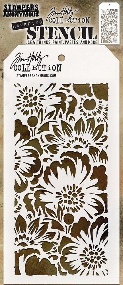 Tim Holtz - Bouquet Layered Stencil