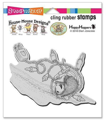 House Mouse - Tangle Tumble Cling Stamp