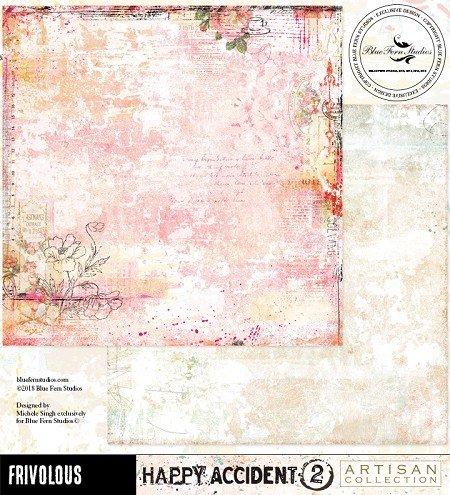 Blue Fern Studios - Frivolous 12x12 Paper