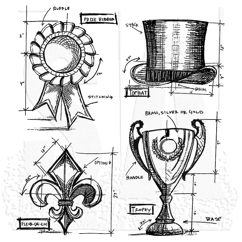 Stampers Anonymous - Tim Holtz High Society Cling Stamps