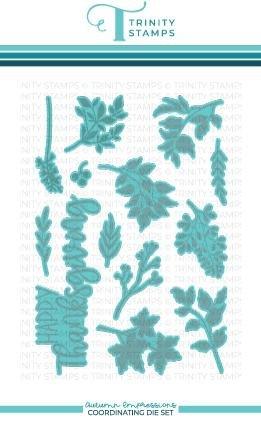Trinity Stamps - Autumn Impressions Die Set