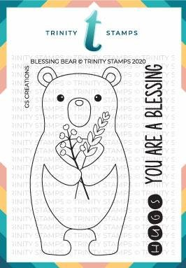 Trinity Stamps - Blessings Bear Stamp