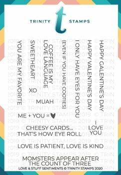 Trinity Stamps - Love & Stuff Stamp Set