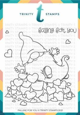 Trinity Stamps - Falling For You Stamp/Die