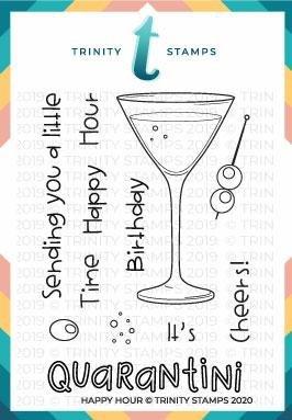Trinity Stamps - Happy Hour Stamp Set