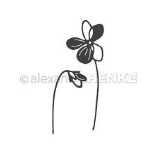 Alexandra Renke - Violet Flower Die