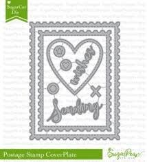 Sugar Pea Designs - Postage Card Die