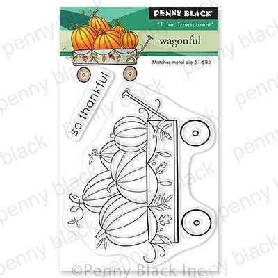 Penny Black - Wagonful Stamp Set