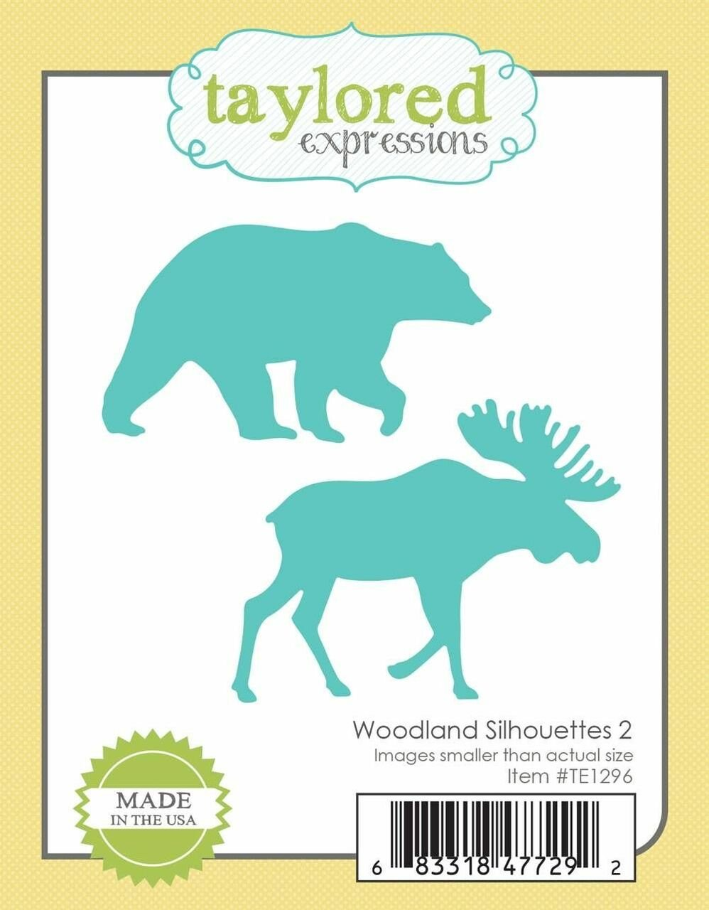 Taylored Expressions - Woodland Silhouettes 2 Die Set