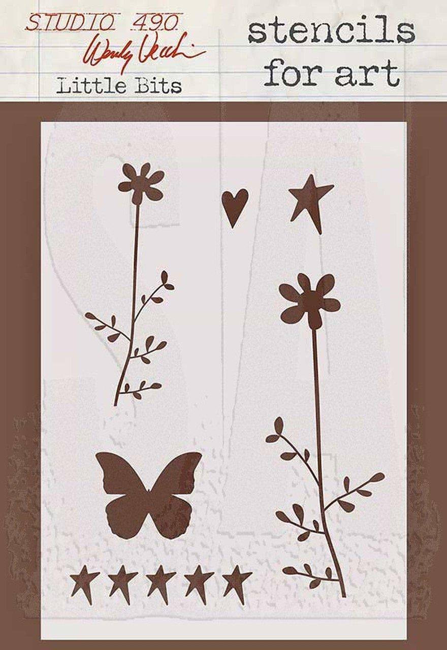 Studio 490 - Little Bits Stencil
