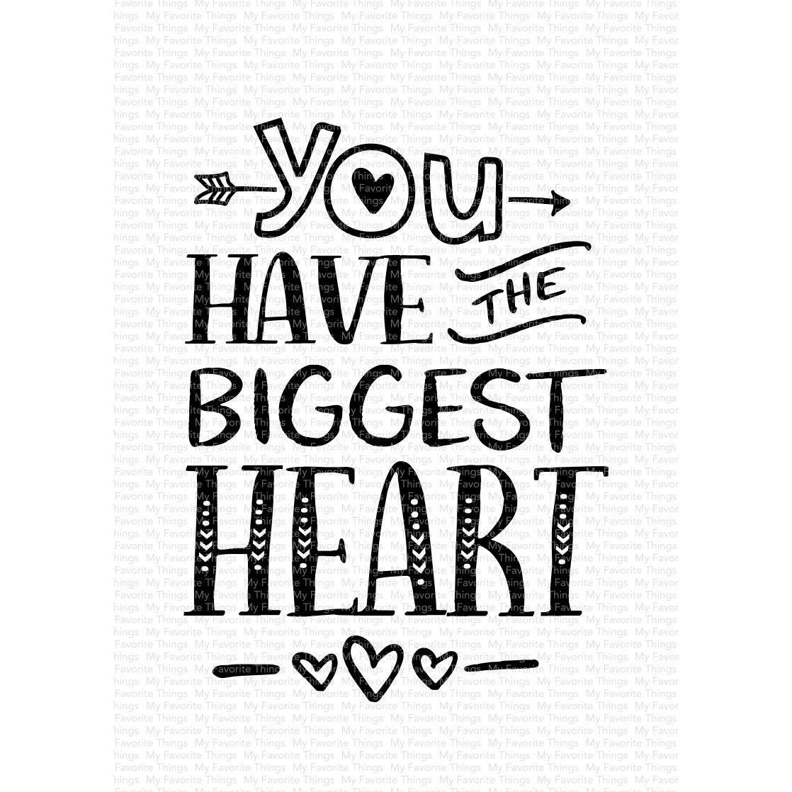 MFT - You Have The Biggest Heart Stamp
