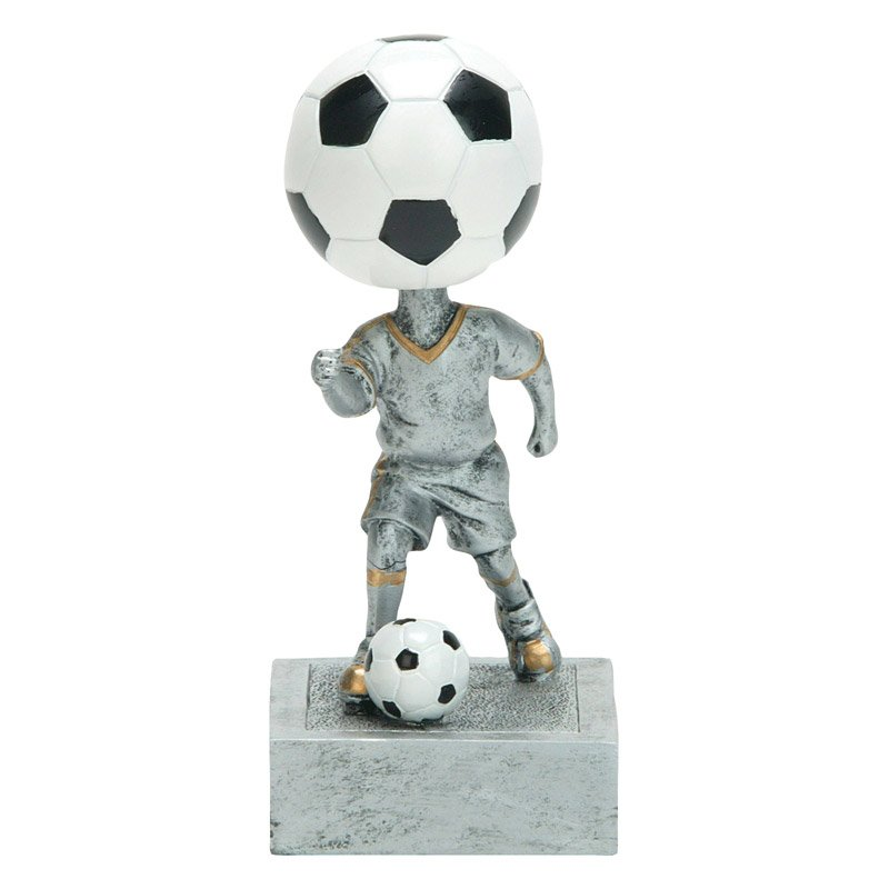 Soccer Bobble Head Resin