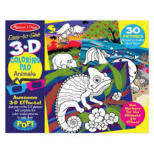 3D Animal Marker Color Pad