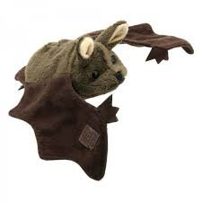 The Puppet Company - Finger Puppets - Brown Bat