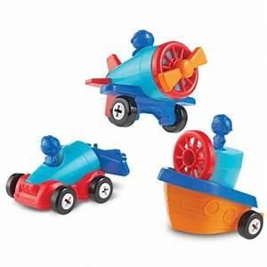 1-2-3 Build It: Car,Plane,Boat