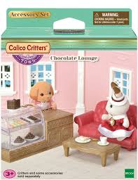 Chocolate Lounge Calico Critters