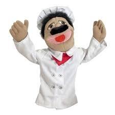 Melissa & Doug Chef Puppet Alfredo Al Dente