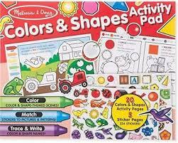 Color & Shapes Activity Pad