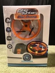Sky Lighter Orange Disc Drone