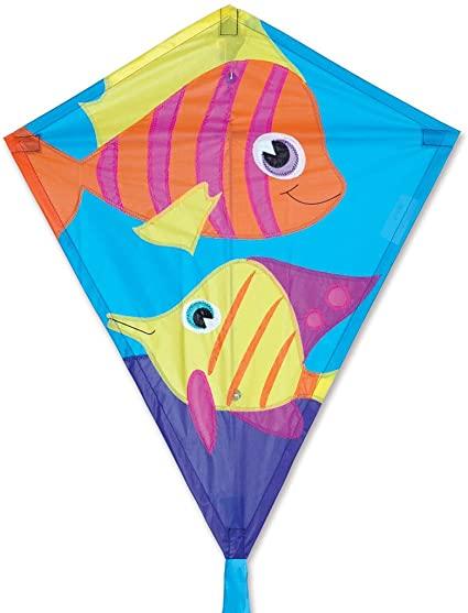 25 Diamond Kite Funny Fish