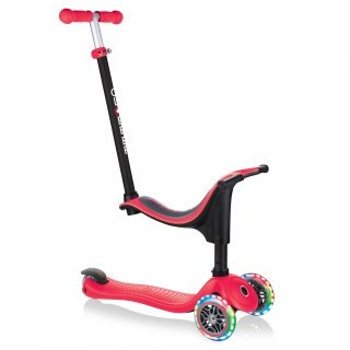Globber GO UP 4-IN-1  SPORTY WITH LIGHTS