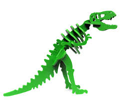 Green Larry the Tyrannosaurus