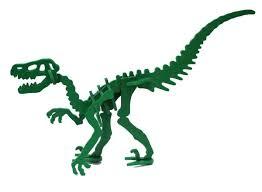 Green Moe the Velociraptor