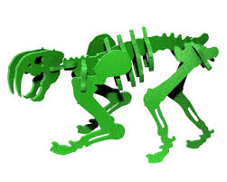 Green Pinga the Smilodon