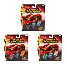 Johnny Lightning Micro Strike 3 Pack ? Super Fast Toy Cars