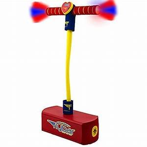 Jump and squeak Pogo Red