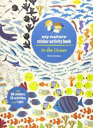 My Nature Sticker Activity Book Ocean
