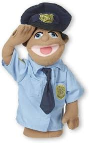 Police Puppet Melissa and Doug