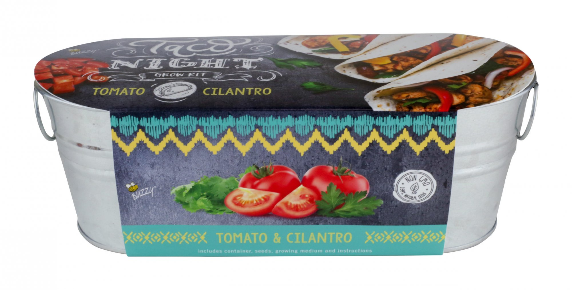 Windowsill Grow Kit | Taco Night: Tomato and Cilantro
