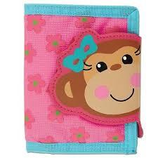 Wallet Monkey Girl