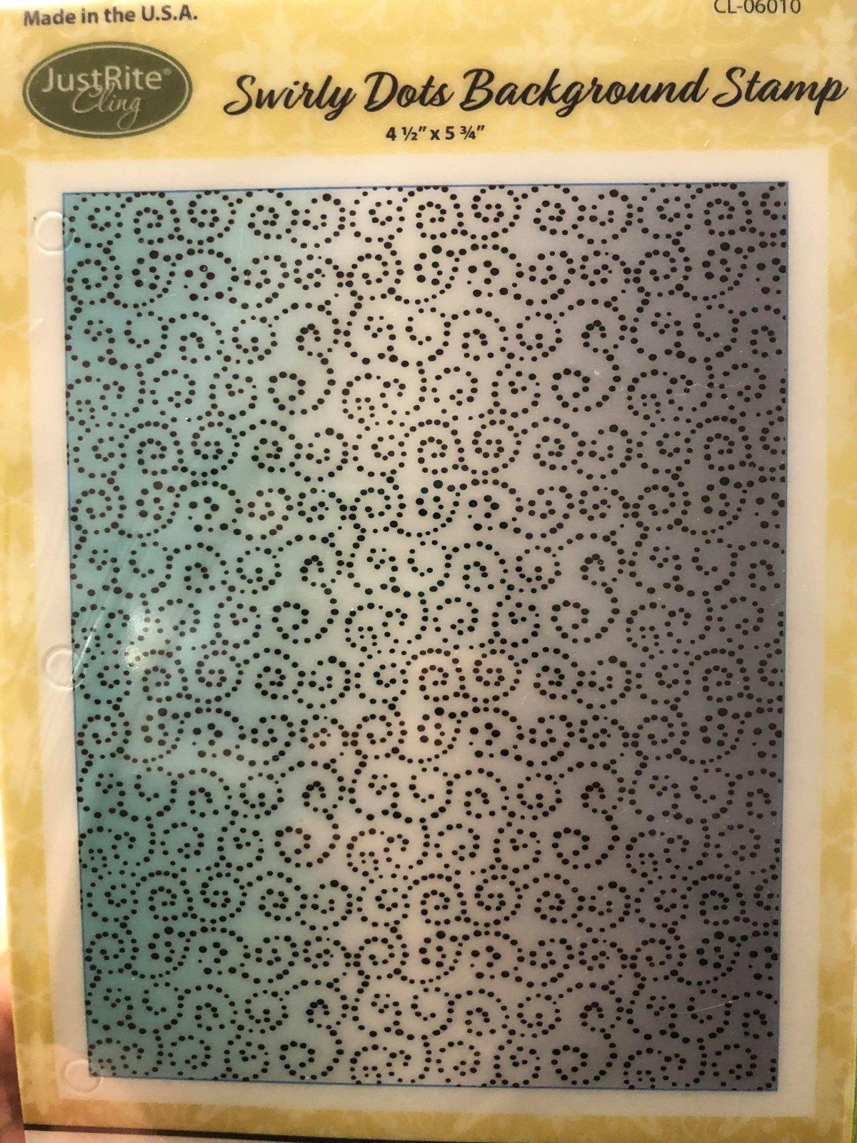 Swirly Dots Background