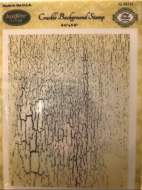 Crackle Background Stamp