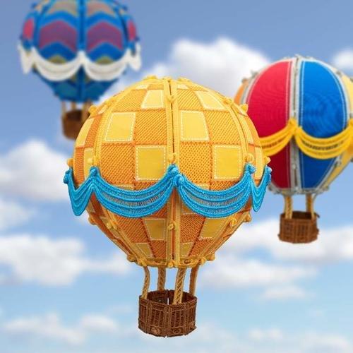 Freestanding Hot Air Balloons