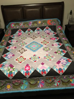 Rae Bon Sew Amp Quilt Shop Quilt Block Of The Month