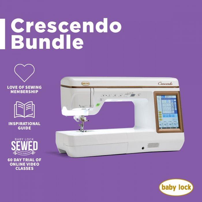 Baby Lock Crescendo Bundle