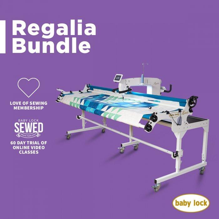 Baby Lock Regalia Bundle