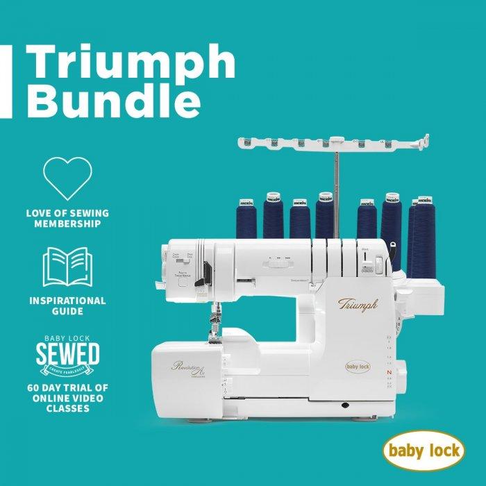 Baby Lock Triumph Bundle