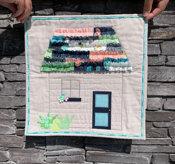 Whimsical Abode Mini Quilt Digital Download