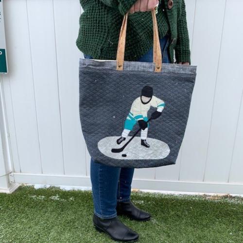 Hockey Tote Bag Kit