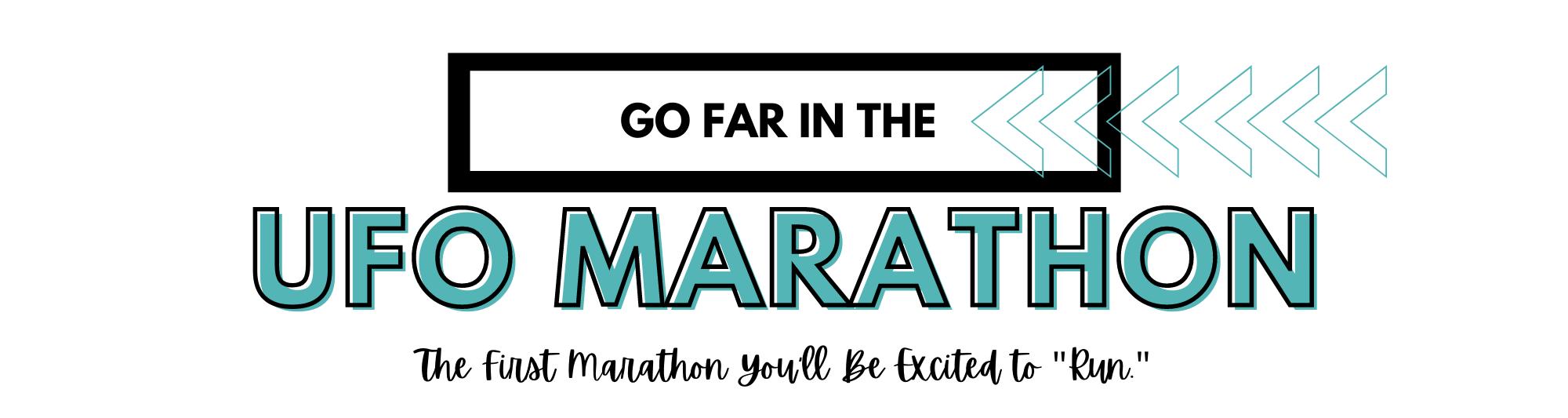Go Far in the UFO Marathon
