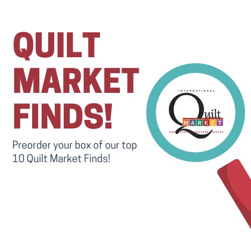 Quilt Market Finds Box