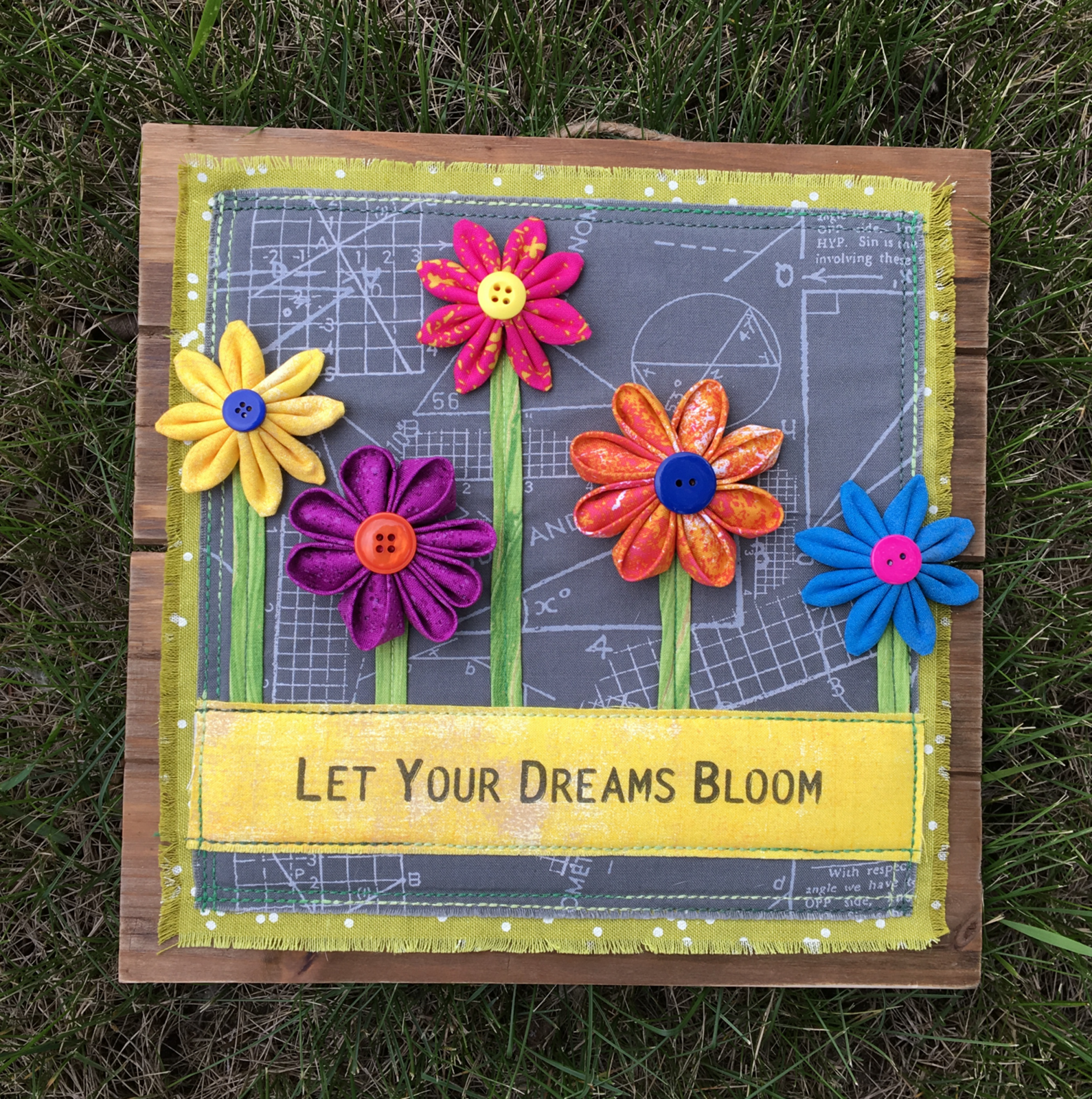 Let Your Dreams Bloom Pattern