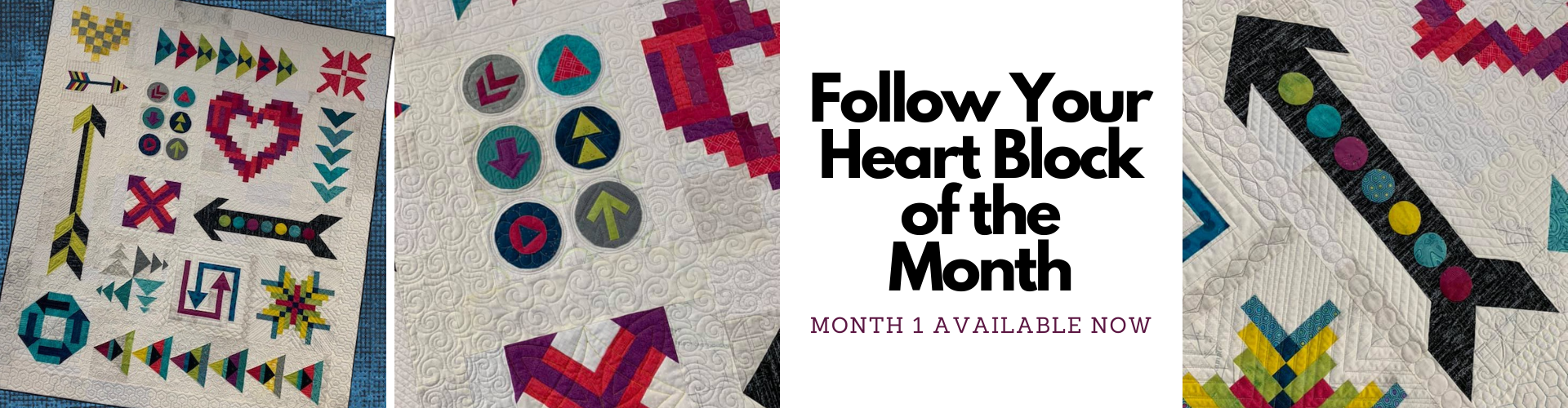 Follow Your Heart Block of the Month